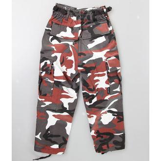 pantalon enfants MIL-TEC - US Hose - Rouge Camo, MIL-TEC
