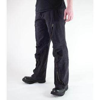 pantalon pour hommes MIL-TEC - Fliegerhose - Prewash Noire, MIL-TEC