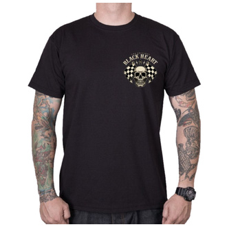 tee-shirt street pour hommes - STARTER - BLACK HEART, BLACK HEART