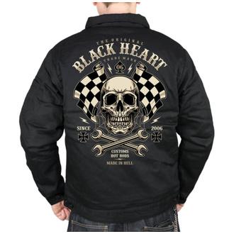 Veste pour hommes BLACK HEART - STARTER - NOIR, BLACK HEART