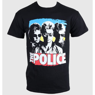tee-shirt métal pour hommes enfants Police - Greatest - PLASTIC HEAD, PLASTIC HEAD, Police