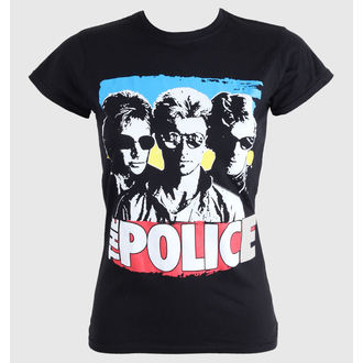 tee-shirt métal pour femmes enfants Police - Greatest - PLASTIC HEAD, PLASTIC HEAD, Police