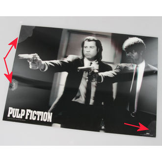 tableau 3D Pulp Fiction - Guns - de pyramides Affiches - PPL70097, PYRAMID POSTERS