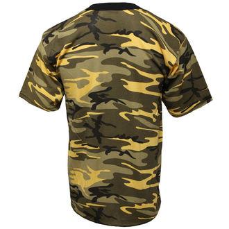 tee-shirt de camouflage