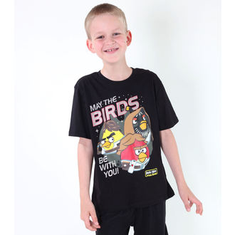 t-shirt de film pour hommes enfants Angry Birds - Angry Birds / Star Wars - TV MANIA - SWAB 323