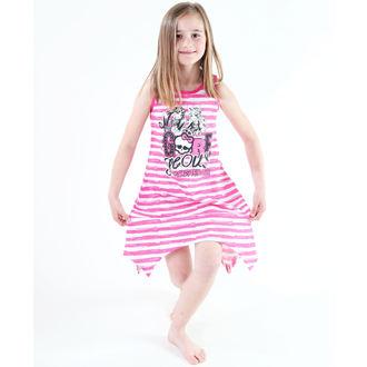 robe jeune fille TV MANIA - Monster Élevé - Blanc / Rose, TV MANIA, Monster High