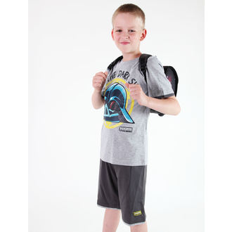 ensemble d'enfant ( t-shirt, shorts) TV MANIA - Angry Birds / Étoile Wars - Grey, TV MANIA