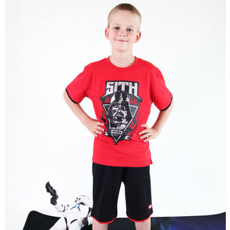 ensemble d'enfant ( t-shirt, shorts) TV MANIA - Étoile Wars Clone - Rouge, TV MANIA, Star Wars