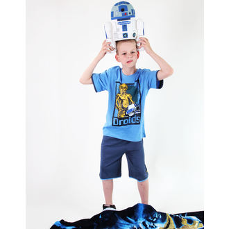 ensemble d'enfant ( t-shirt, shorts) TV MANIA - Étoile Wars Clone - Blue, TV MANIA, Star Wars