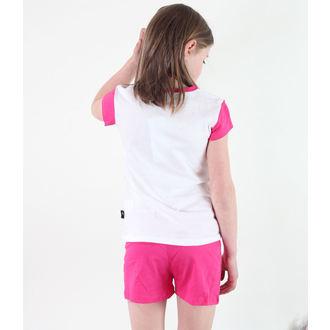 pyjama jeune fille TV MANIA - Monster Élevé - Blanc / Rose, TV MANIA