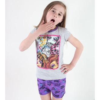 pyjama jeune fille TV MANIA - Monster Élevé -Grey, TV MANIA