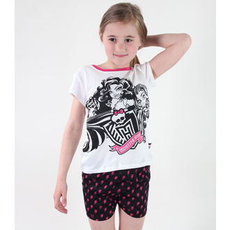pyjama jeune fille TV MANIA - Monster Élevé - Blanc, TV MANIA, Monster High