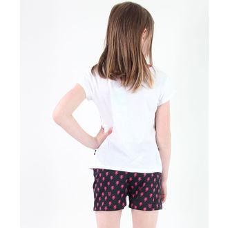 pyjama jeune fille TV MANIA - Monster Élevé - Blanc, TV MANIA
