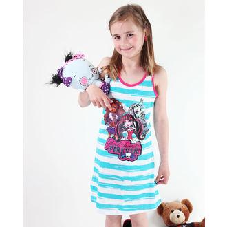 robe jeune fille TV MANIA Monster Élevé - Blanc / Turquise, TV MANIA, Monster High