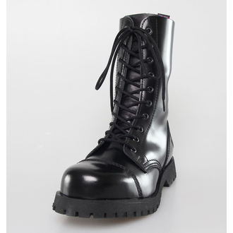 chaussures NEVERMIND - 10 trous - Noire Polido, NEVERMIND