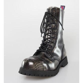 chaussures NEVERMIND - 10 trous - Grey Araignée, NEVERMIND