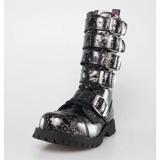 chaussures NEVERMIND - 14 trous - Roldan Grey, NEVERMIND