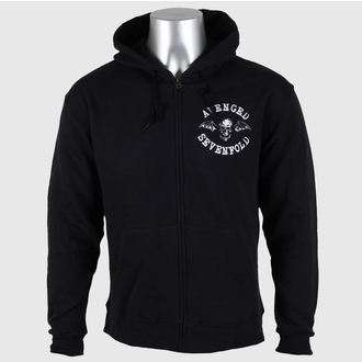 sweat-shirt avec capuche pour hommes Avenged Sevenfold - Flourish Zip - ROCK OFF, ROCK OFF, Avenged Sevenfold