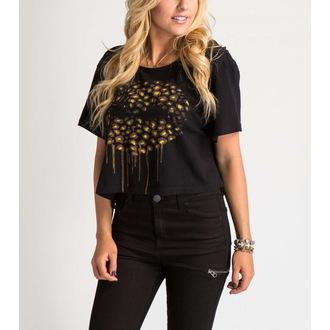 tee-shirt street pour femmes enfants - FELINE CROP - METAL MULISHA, METAL MULISHA