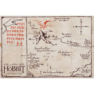 affiche The Hobit - Mountain Carte, GB posters