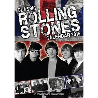 calendrier pour année 2015 ROLLING PIERRES, Rolling Stones