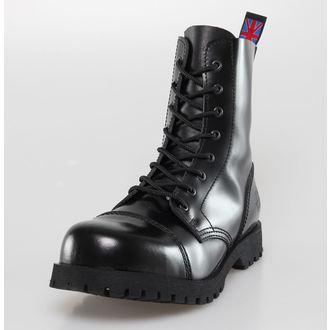 chaussures NEVERMIND - 8 trous - Noire Polido, NEVERMIND