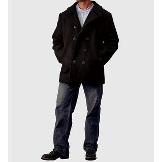 manteau pour hommes ROTHCO - PEA COAT - NOIRE, ROTHCO