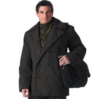 veste pour hommes d`hiver ROTHCO - PEA COAT - NOIRE, ROTHCO