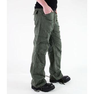 pantalon pour femmes ROTHCO - VINTAGE Parachutiste - Fatigues OD, ROTHCO