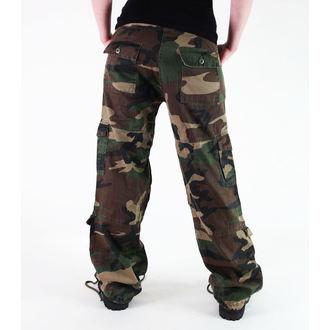 pantalon pour femmes ROTHCO - VINTAGE Parachutiste - Fatigues CAMO - 3386