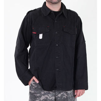 chemise pour hommes ROTHCO - VINTAGE BDU - NOIRE, ROTHCO