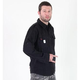 chemise pour homme ROTHCO - VINTAGE EDR - NOIR, ROTHCO