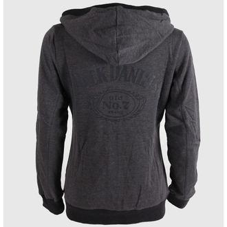 sweat-shirt avec capuche pour femmes Jack Daniels - Old No.7. - JACK DANIELS, JACK DANIELS