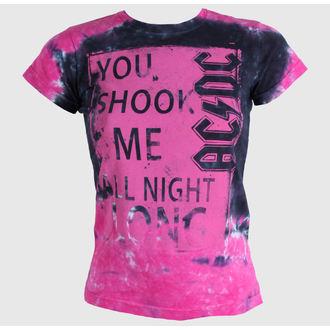 tee-shirt métal pour hommes pour femmes unisexe AC-DC - Shock Me Juniors - LIQUID BLUE, LIQUID BLUE, AC-DC