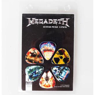 médiators Megadeth - PERRIS LEATHERS, PERRIS LEATHERS, Megadeth