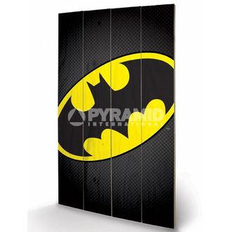 en bois tableau DC Comics - Batman Symbol - PYRAMID POSTERS, PYRAMID POSTERS
