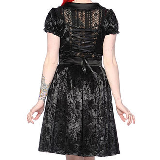 robe pour femmes BANNED - Noire Ivy Cross Gothic, BANNED