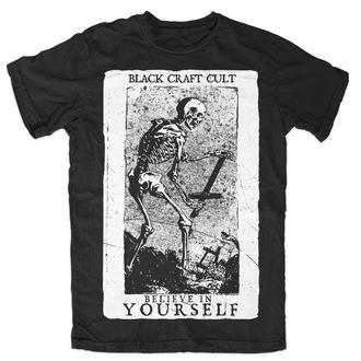 t-shirt pour hommes pour femmes unisexe - Believe In Yourself - BLACK CRAFT - MT070BT