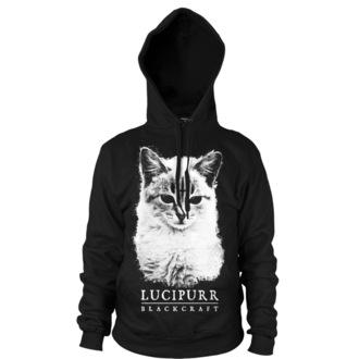 sweat-shirt avec capuche pour hommes - Lucipurr - BLACK CRAFT