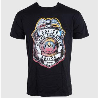 tee-shirt métal pour hommes pour femmes unisexe Police - SHIELD - LIVE NATION, LIVE NATION, Police