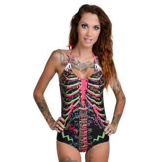 maillot de bain pour femmes TOO FAST - Electric Skeleton - Multi, TOO FAST
