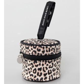 réticule pour sucette ROCK STAR BABY - Leopard, ROCK STAR BABY