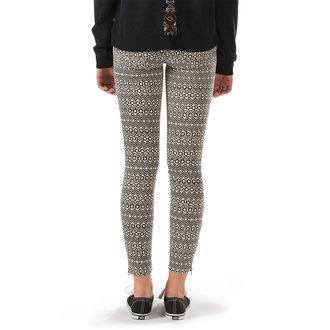 pantalon pour femmes VANS - Moto Skinny Denim - Creme