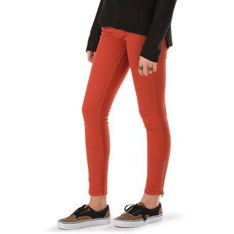 pantalon pour femmes VANS - Moto Skinny Denim - Ketchup, VANS