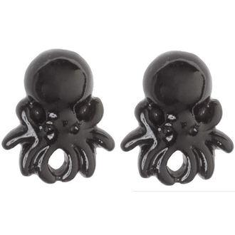 boucles d`oreilles SOURPUSS - Pieuvre - Noire, SOURPUSS