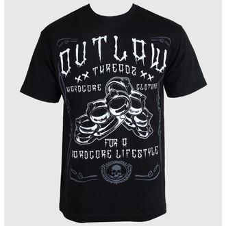 t-shirt pour hommes pour femmes unisexe - Hardcore - OUTLAW THREADZ, OUTLAW THREADZ