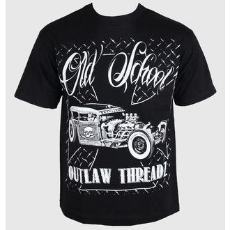 t-shirt pour hommes pour femmes unisexe - Old School - OUTLAW THREADZ, OUTLAW THREADZ