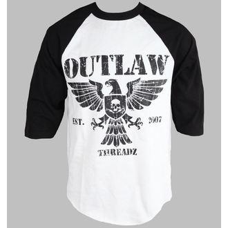 t-shirt pour hommes pour femmes unisexe - Crest - OUTLAW THREADZ, OUTLAW THREADZ