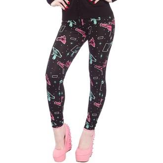 pantalon (caleçons longs) pour femmes SOURPUSS - Ray Guns - Noire, SOURPUSS