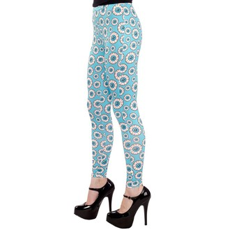 pantalon (caleçons longs) pour femmes SOURPUSS - optical Illusion - Aqua, SOURPUSS